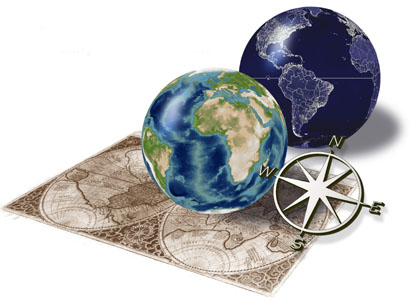 Orthographic Globe Images